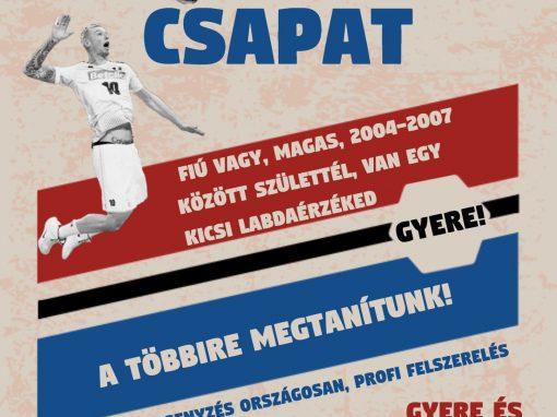 Röplabdázz a Sülysápi SE-nél!