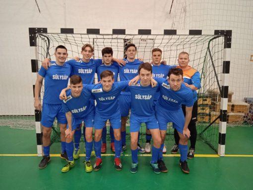 Futsal U20 - Tóalmás ellen is győzelem