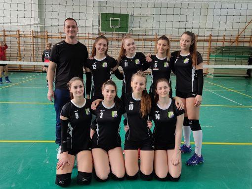 Röplabda - Jelenleg csoportelső U17 női csapatunk