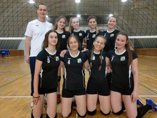 Röplabda - Női U17: Szombathely és Veszprém legyőzésével folytatták lányaink