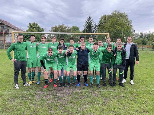 Foci - U19-es csapatunk ismét nyert, közel a bajnoki cím