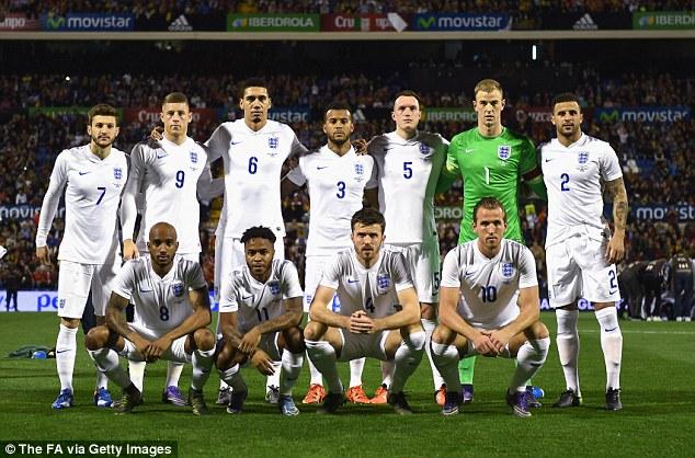 csapatfotó: Anglia
