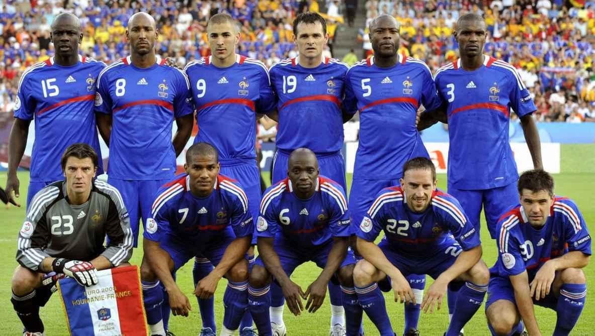 csapatfotó: Franciaország