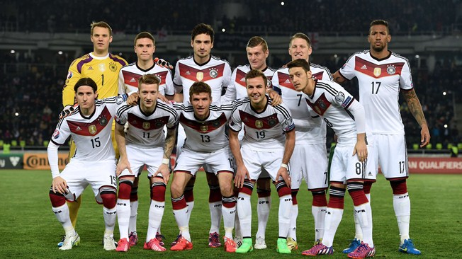 csapatfotó: Németország