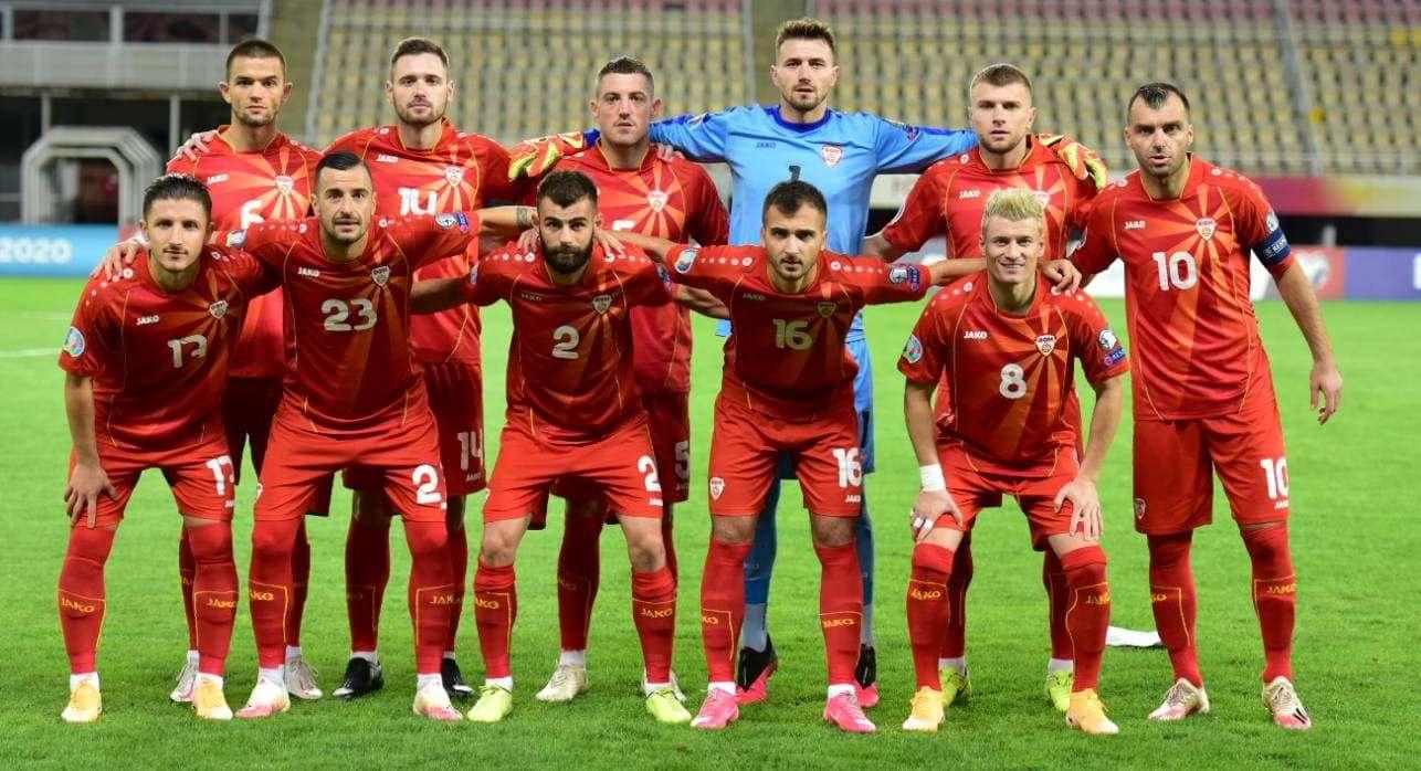 csapatfotó: Észak-Macedónia