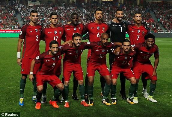 csapatfotó: Portugália