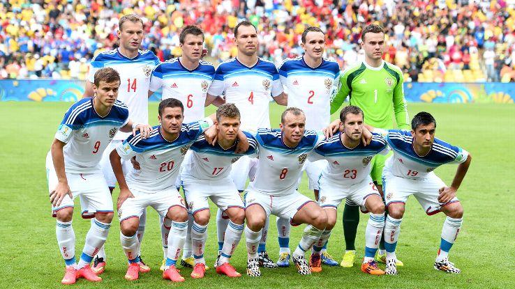csapatfotó: Oroszország