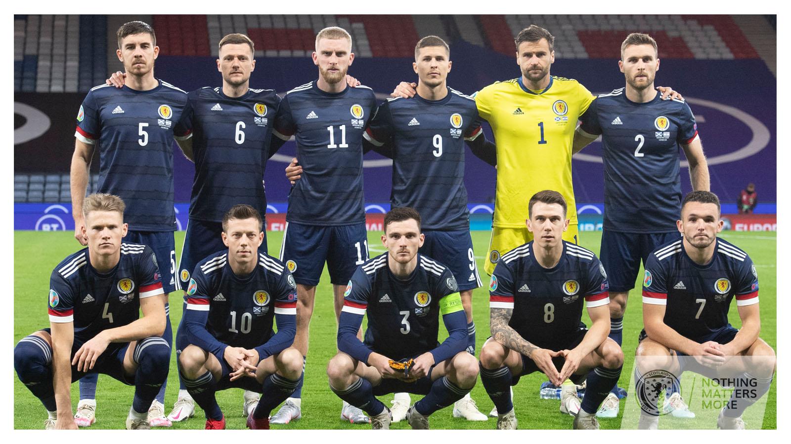 csapatfotó: Skócia