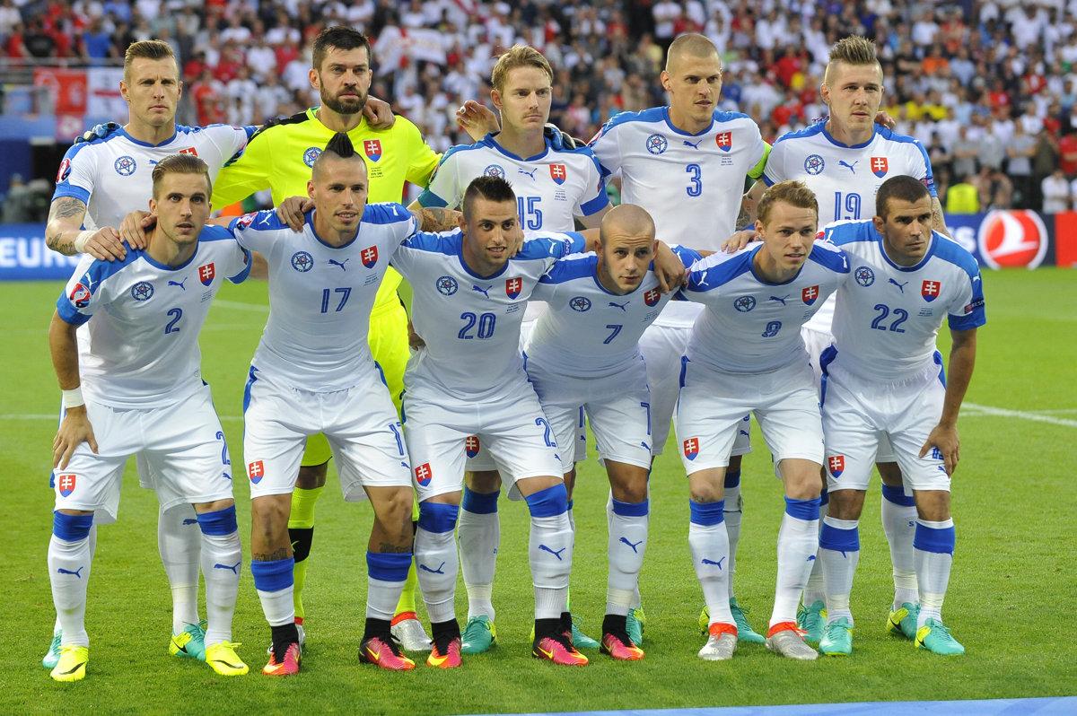 csapatfotó: Szlovákia